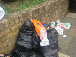 Enfiekd council condoning fly tipping, 11th September