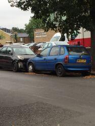 Dumped cars, 17th September