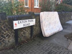 Mattress dumped, 16th October
