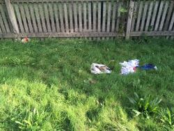 Bag of clothes dumped along canal, 22nd October